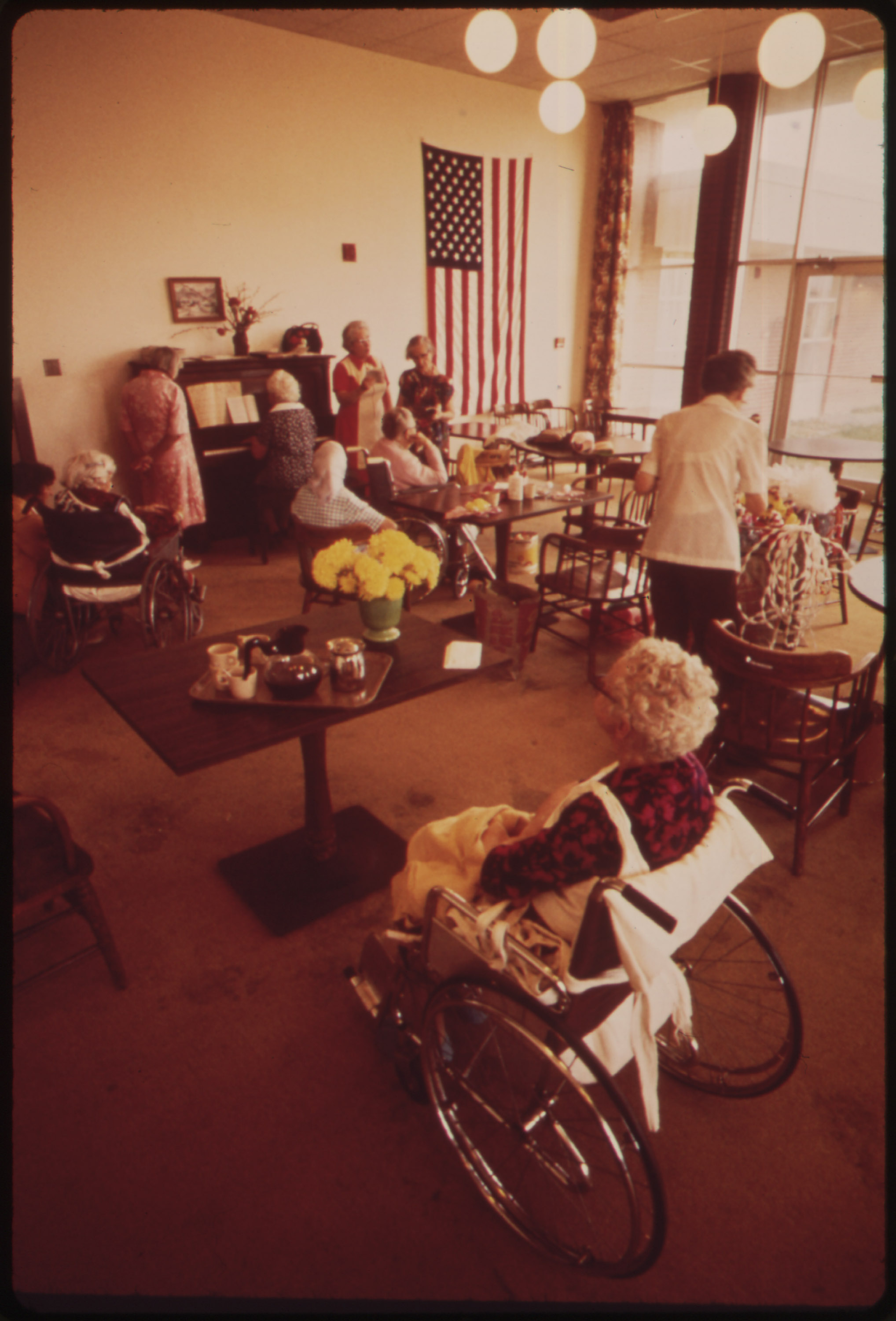 Restraints in Nursing Homes Such as Nursing Homes Will